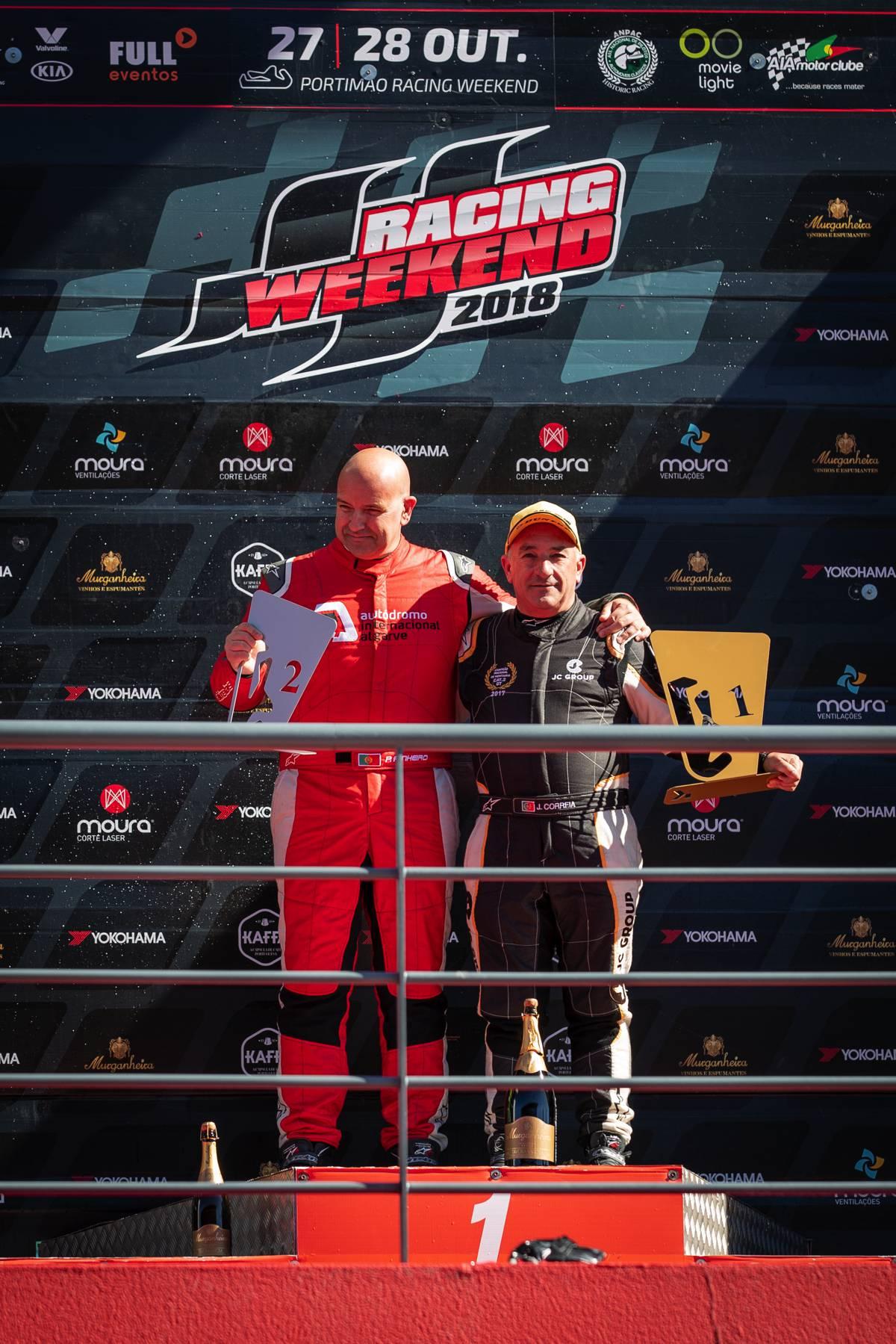 portimao podio supercars GT
