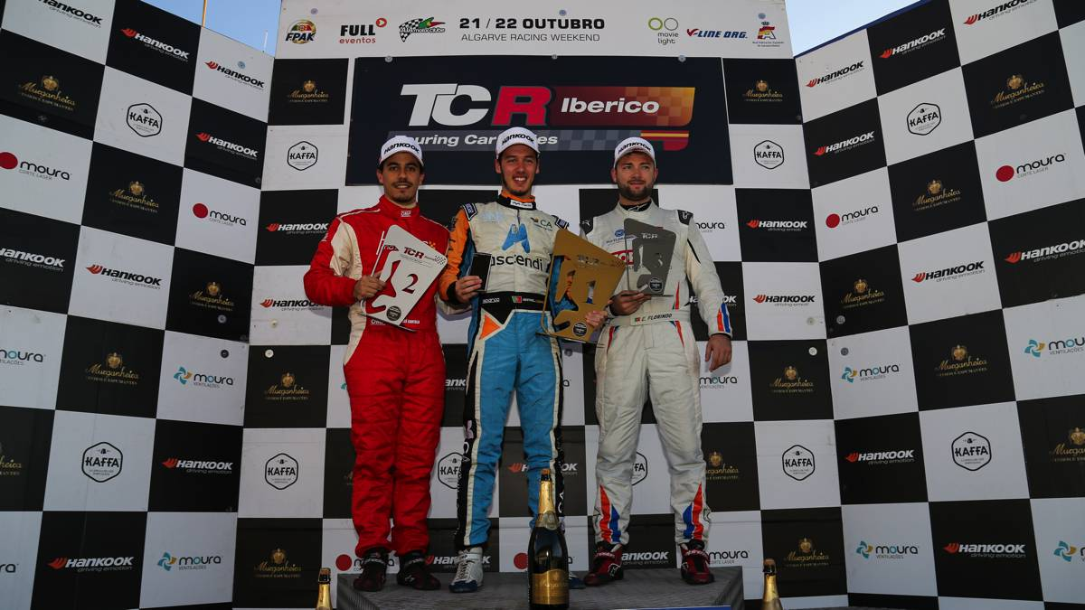 portimao tcr podio corrida 3