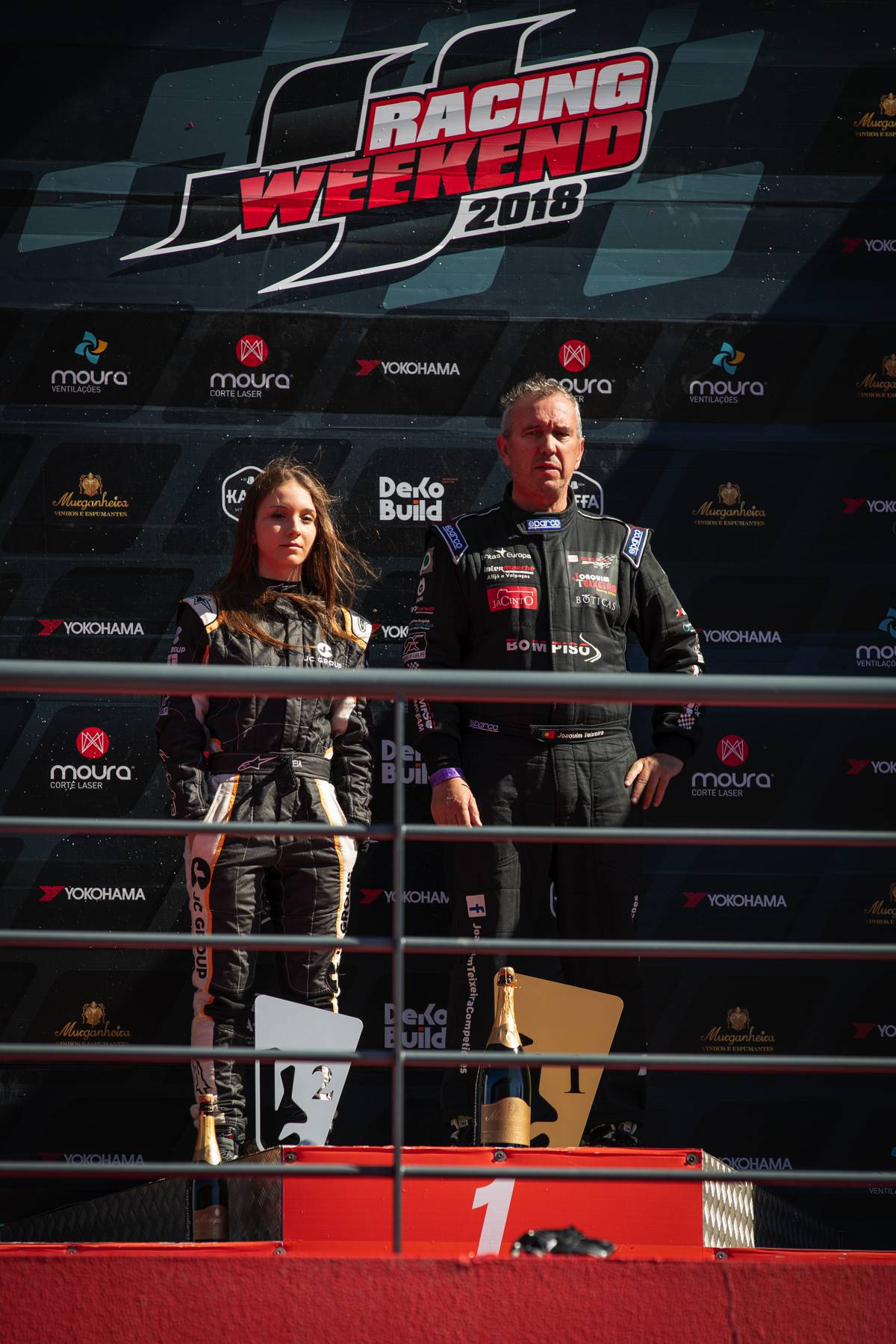 portimao podio supercars turismos